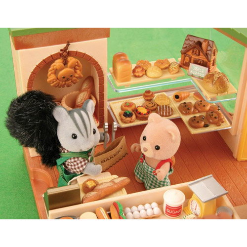 Sylvanian Families Watermill Bakery Toy Madness