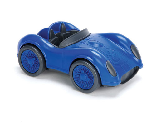 Green Toys Race Car : Green toys race car blue toy madness