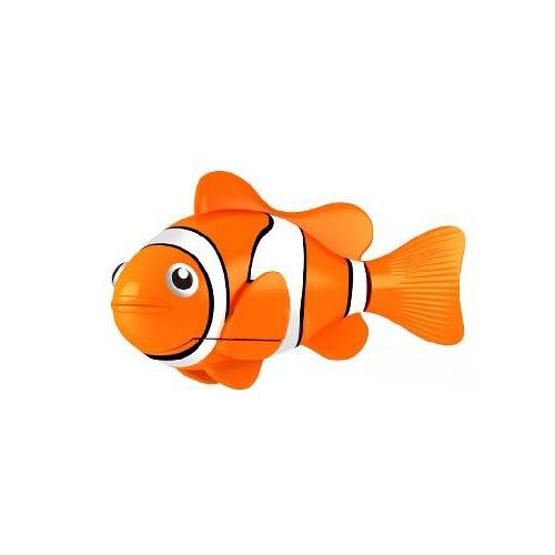 Robo fish orange clown fish toy madness for Clown fish price
