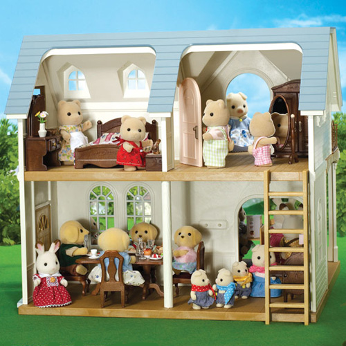 Sylvanian Families Courtyard Restaurant Toy Madness