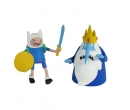 Adventure Time Finn and Ice King
