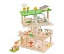 EverEarth 3 Level Rotating Sustainable Dollhouse
