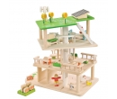 EverEarth 3 Level Rotating Sustainable Dollhouse