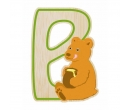 EverEarth Bamboo Letter B for Bear