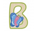 EverEarth Bamboo Letter B for Butterfly