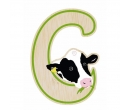 EverEarth Bamboo Letter C for Cow