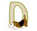 EverEarth Bamboo Letter D for Dog