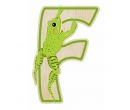 EverEarth Bamboo Letter F for Frog