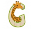 EverEarth Bamboo Letter G for Giraffe