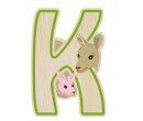EverEarth Bamboo Letter K for Kangaroo