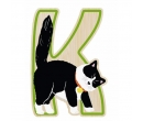 EverEarth Bamboo Letter K for Kitten