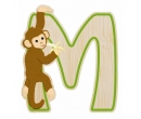 EverEarth Bamboo Letter M for Monkey