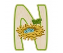 EverEarth Bamboo Letter N for Nest