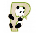 EverEarth Bamboo Letter P for Panda