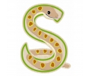 EverEarth Bamboo Letter S for Snake