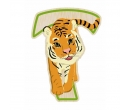 EverEarth Bamboo Letter T for Tiger