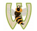 EverEarth Bamboo Letter W for Wasp