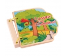 EverEarth Wooden Book Cooper the Chameleon