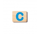 EverEarth Bamboo Name Train Letter C