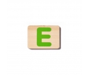 EverEarth Bamboo Name Train Letter E