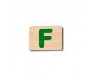 EverEarth Bamboo Name Train Letter F