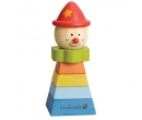 Everearth Stacking Clown Red Hat