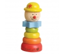 Everearth Stacking Clown Yellow Hat