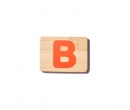 EverEarth Bamboo Name Train Letter B