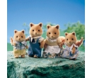 Sylvanian Families Honey Fox Family