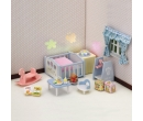 Sylvanian Families Nightlight Nursery Set